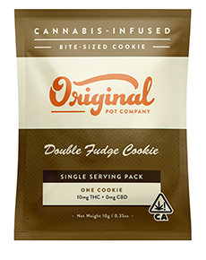 Double Fudge Cookie (Single Serving Pack)